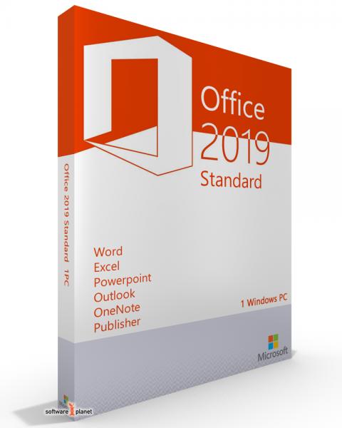 Microsoft Office 2019 Standard - kein Abo