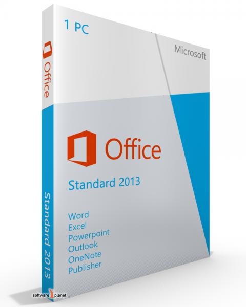Microsoft Office 2013 Standard - kein Abo