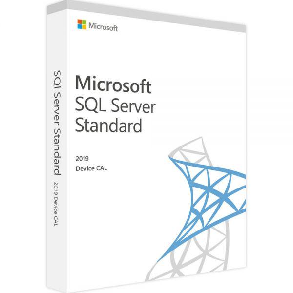 SQL Server 2019 Standard 10 Device CAL