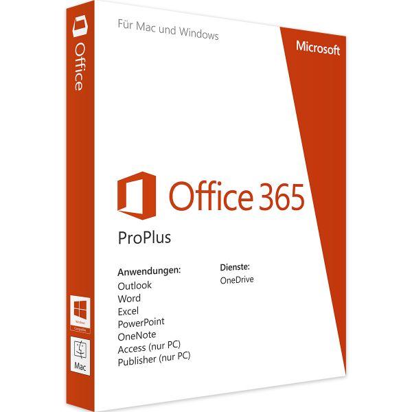 Office 365 für Ipad, PC & Mac