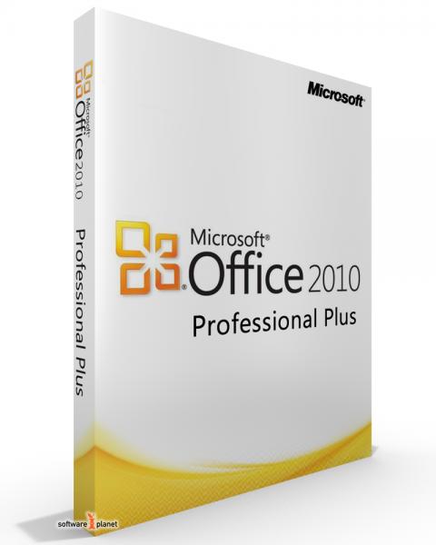Microsoft Office 2010 Professional Plus - kein Abo