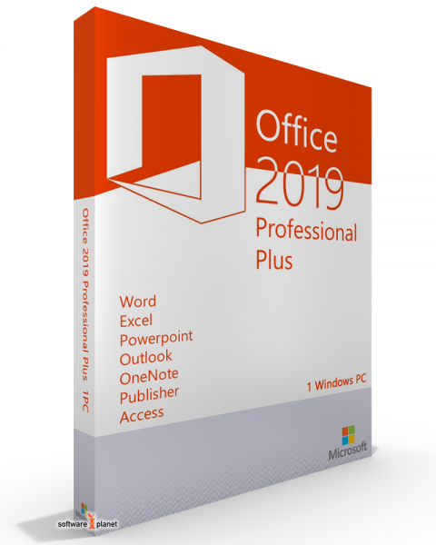 Office 2019 Professional Plus + Project 2019 Pro