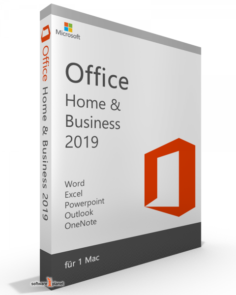 Office 2019 für MAC Home & Business Vollversion, kein Abo