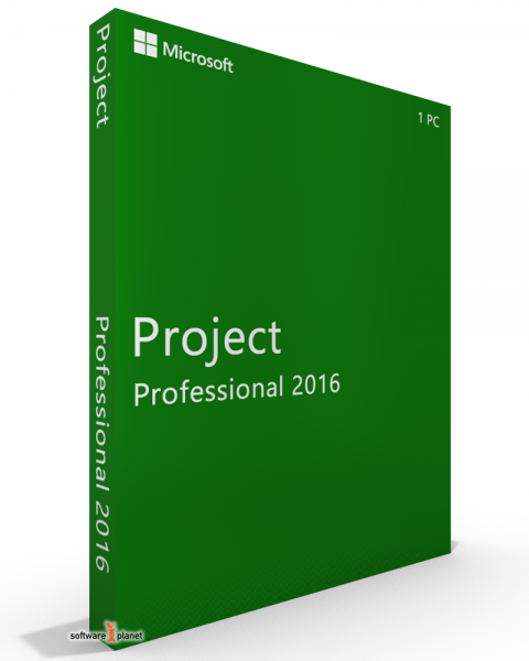 Microsoft Project 2016 Professional (click to run kompatibel) deutsch