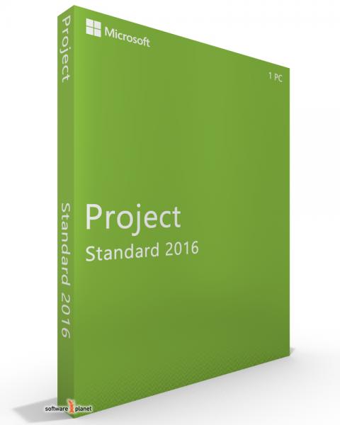 Microsoft Project 2016 Standard deutsch